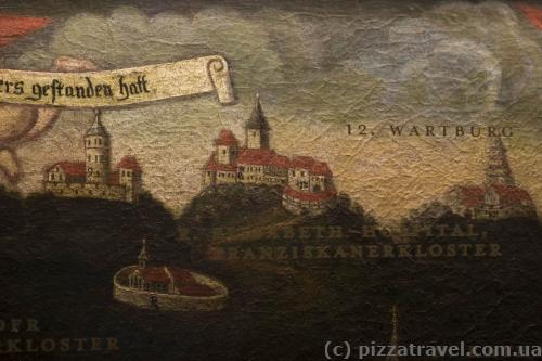 Около Вартбурга были и другие замки, но сейчас они не сохранились.