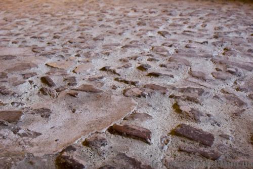 Floor in the castle rooms