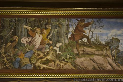Легенда об основании замка Вартбург