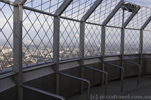 Observation deck on the Florianturm Tower
