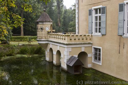 Дворец Вестхузен (Wasserschloss Westhusen)