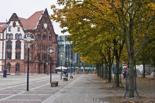 Старая ратуша на площади Мира