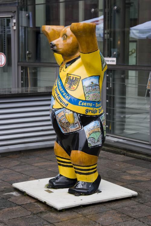 Берлинский мишка в Дортмунде