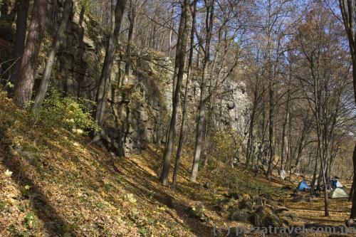 Скалы возле Денишей