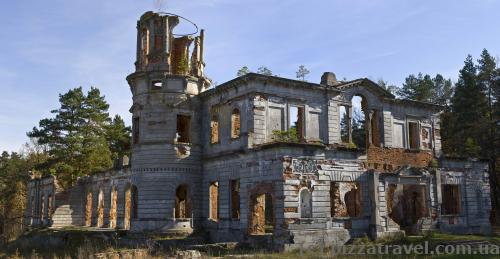 Развалины усадьбы Терещенко