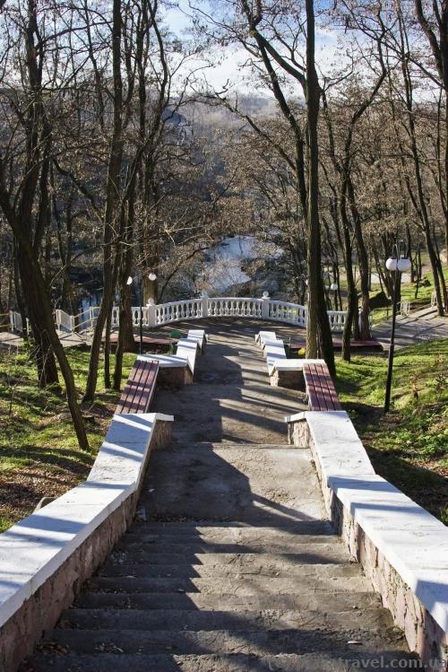 Парк Островського в Коростені