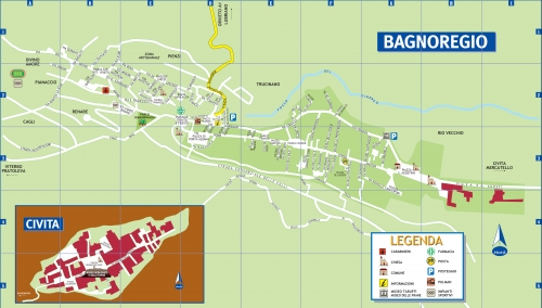 Map of Bagnoregio
