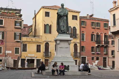 Monument to Paolo Sarpi in Venice