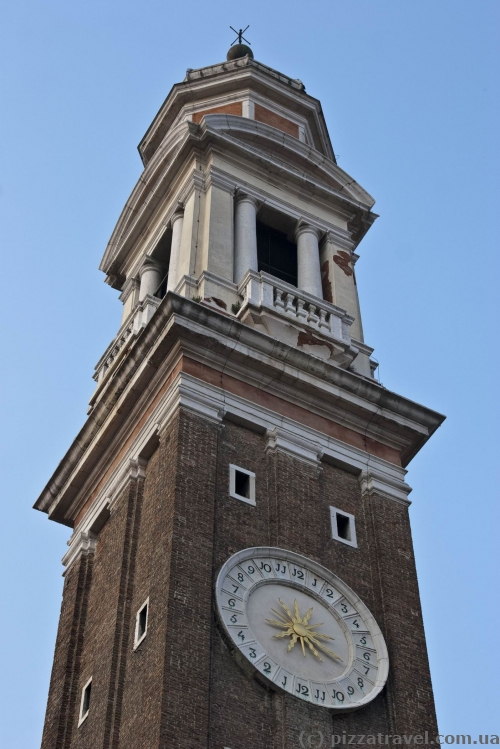 Bell tower on San Marco