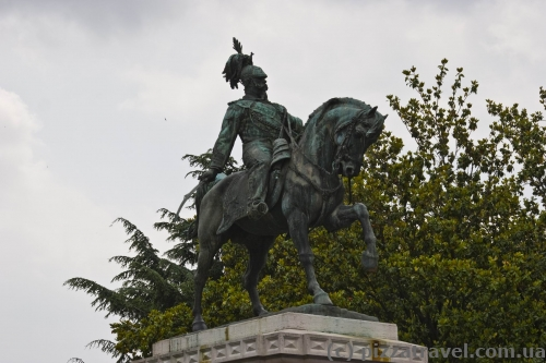 Monument to Victor Emmanuel II in Verona