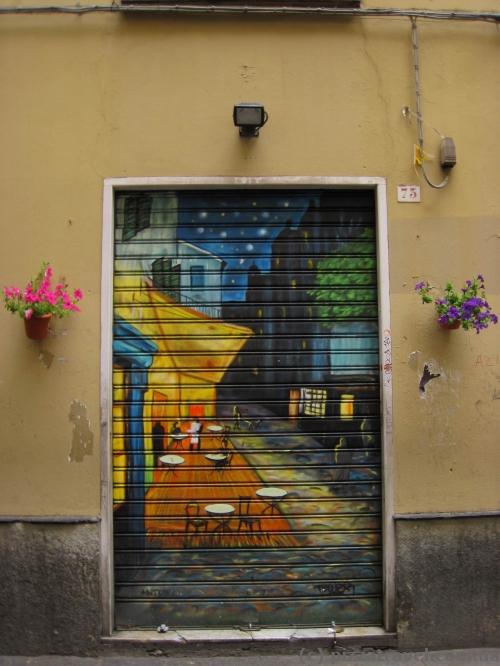 Граффити в Генуе