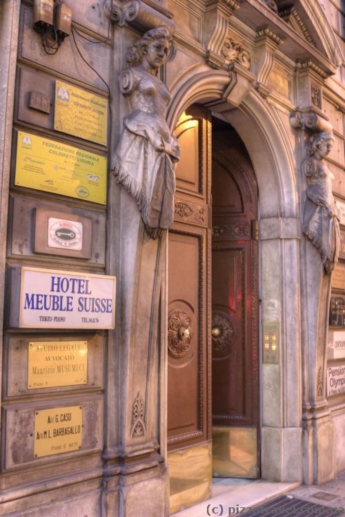 Наш отель в Генуе на улице 20-го сентября