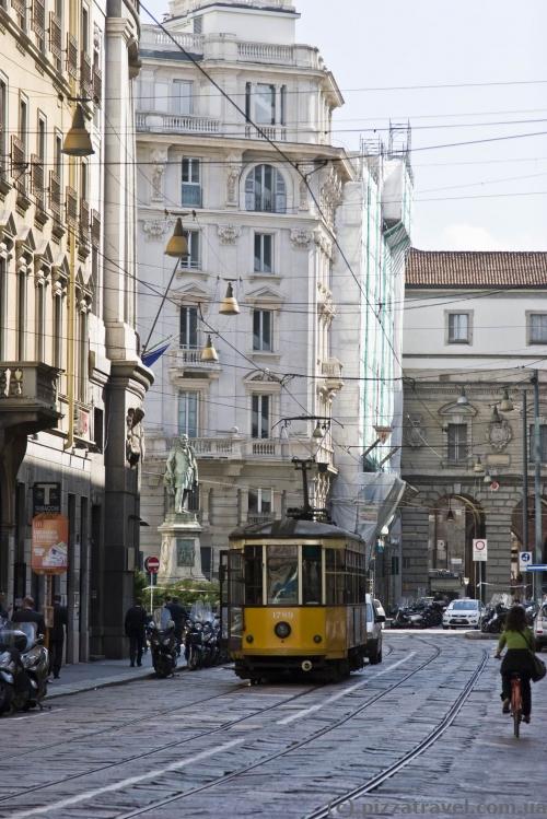 Трамвай в Милане