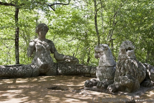 Парк монстров в Бомарцо