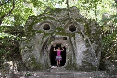 Park of Monsters in Bomarzo