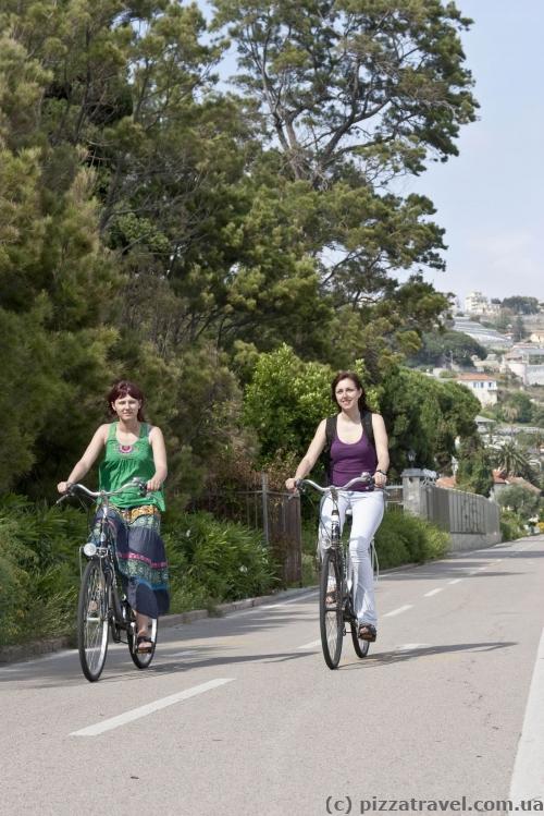 Велосипедная дорожка Cycling Riviera