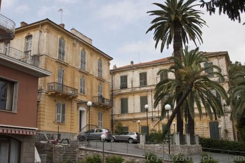 Наш отель в Сан-Ремо