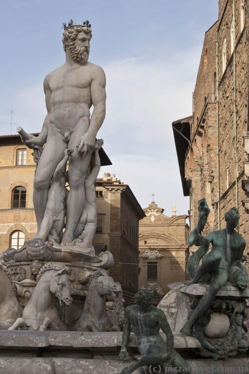 Скульптуры на площади Синьории