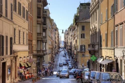 Вулиця Via Sistina