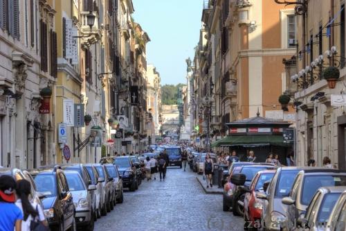 Вулиця Via del Babuino