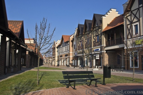 Manufaktura, outlet village near Kyiv