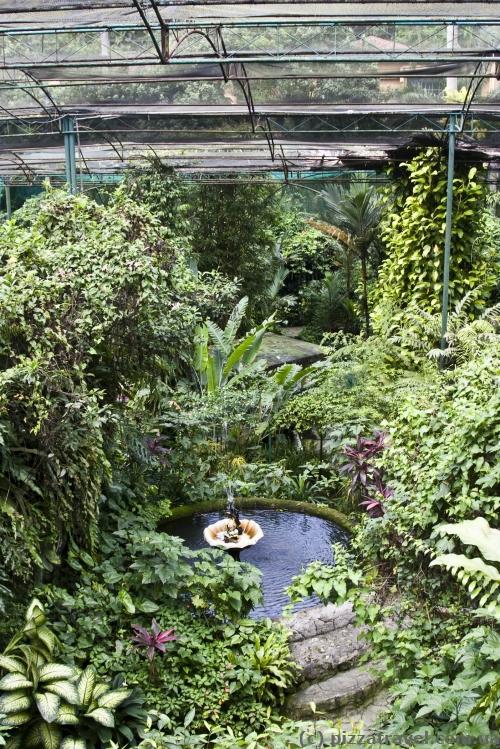 Парк бабочек в Куала-Лумпур