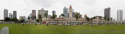 Площадь Мердека в Куала-Лумпур