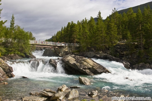 Водопад Польфоссен
