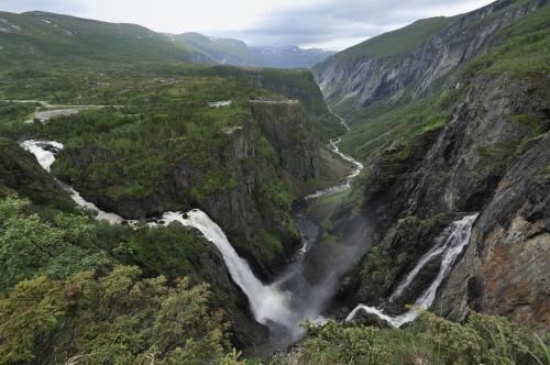 Водопад Верингсфоссен