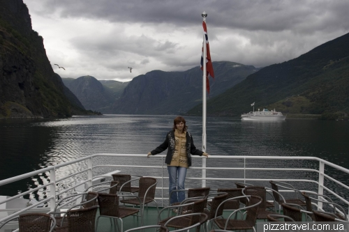 Cruise on the Sognefjord