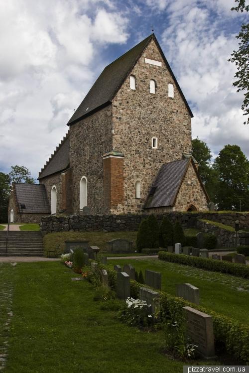 Средневековая церковь Старой Уппсалы