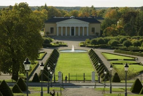 Ботанический сад в Уппсале