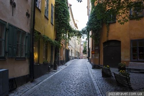 Старый город в Стокгольме (Гамластан)