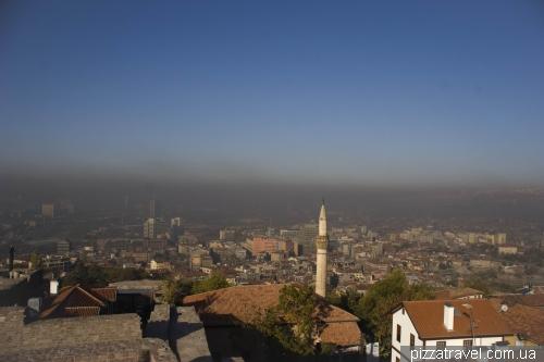 Грязный воздух над центром Анкары