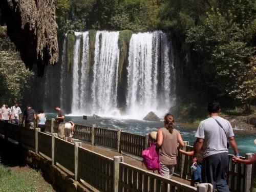 Верхний водопад Дюден