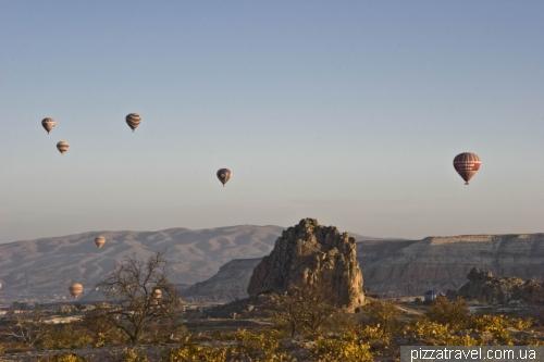 Долина Монахов в Каппадокии