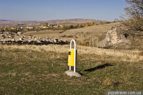 Мусорный бак в древнем городе Хаттушаш