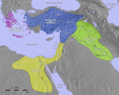 Borders of Hittite Empire