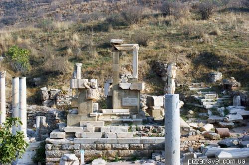 The Memmius monument in Ephesus
