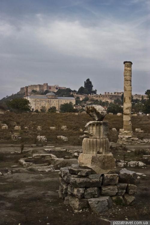 Ruins of the Temple of Artemis at Ephesus
