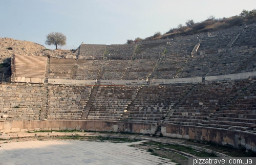 Large theater in Ephesus