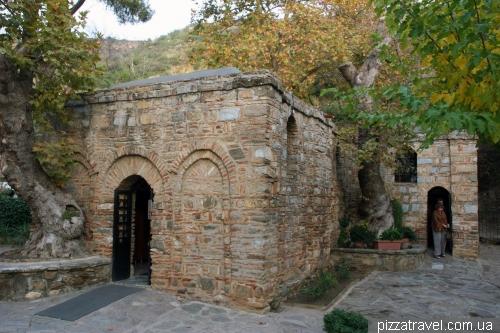 House of the Virgin Mary near Ephesus