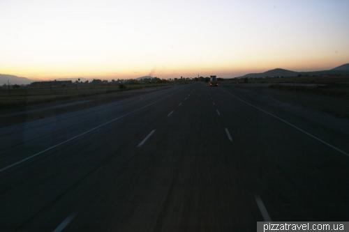 Аэродром на автомобильной дороге