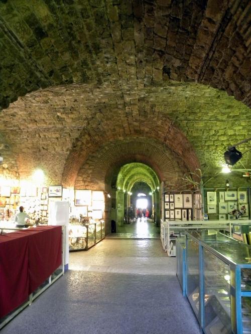 Подземелье дворца Диоклетиана в Сплите