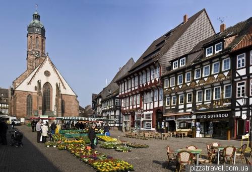 Рыночная площадь в Айнбеке