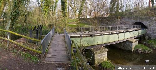Средневековый водный мост в Айнбеке