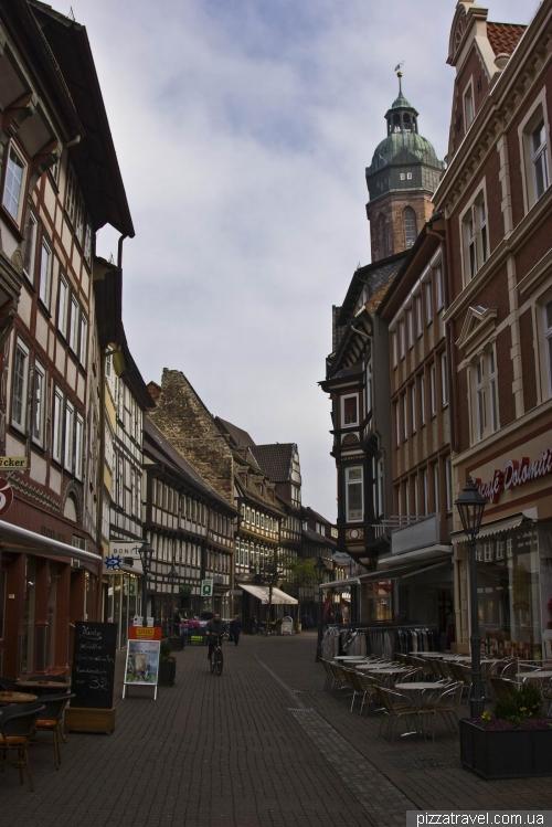 Улица Marktstrasse в Айнбеке