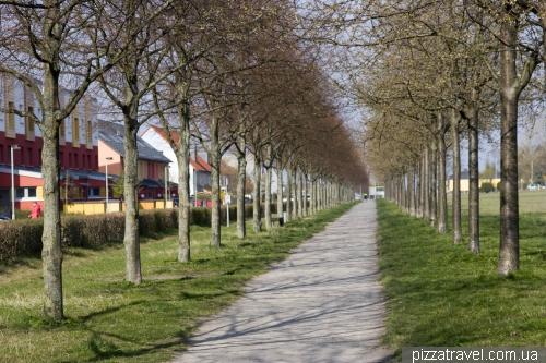 Kronsberg district in Hannover