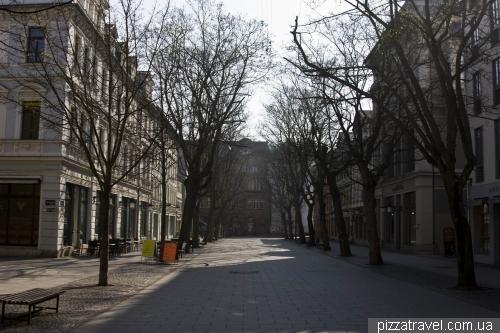 Вулиця Шиллера у Ваймарі