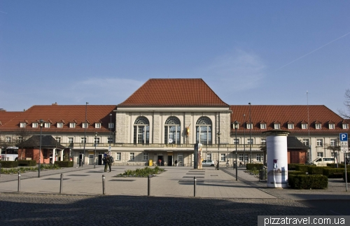 Train station in Weimar